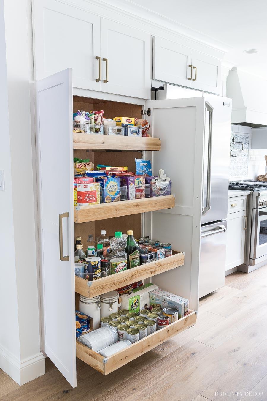 قراردادن فضای نگه دارنده مواد غذایی در کنار یخچال