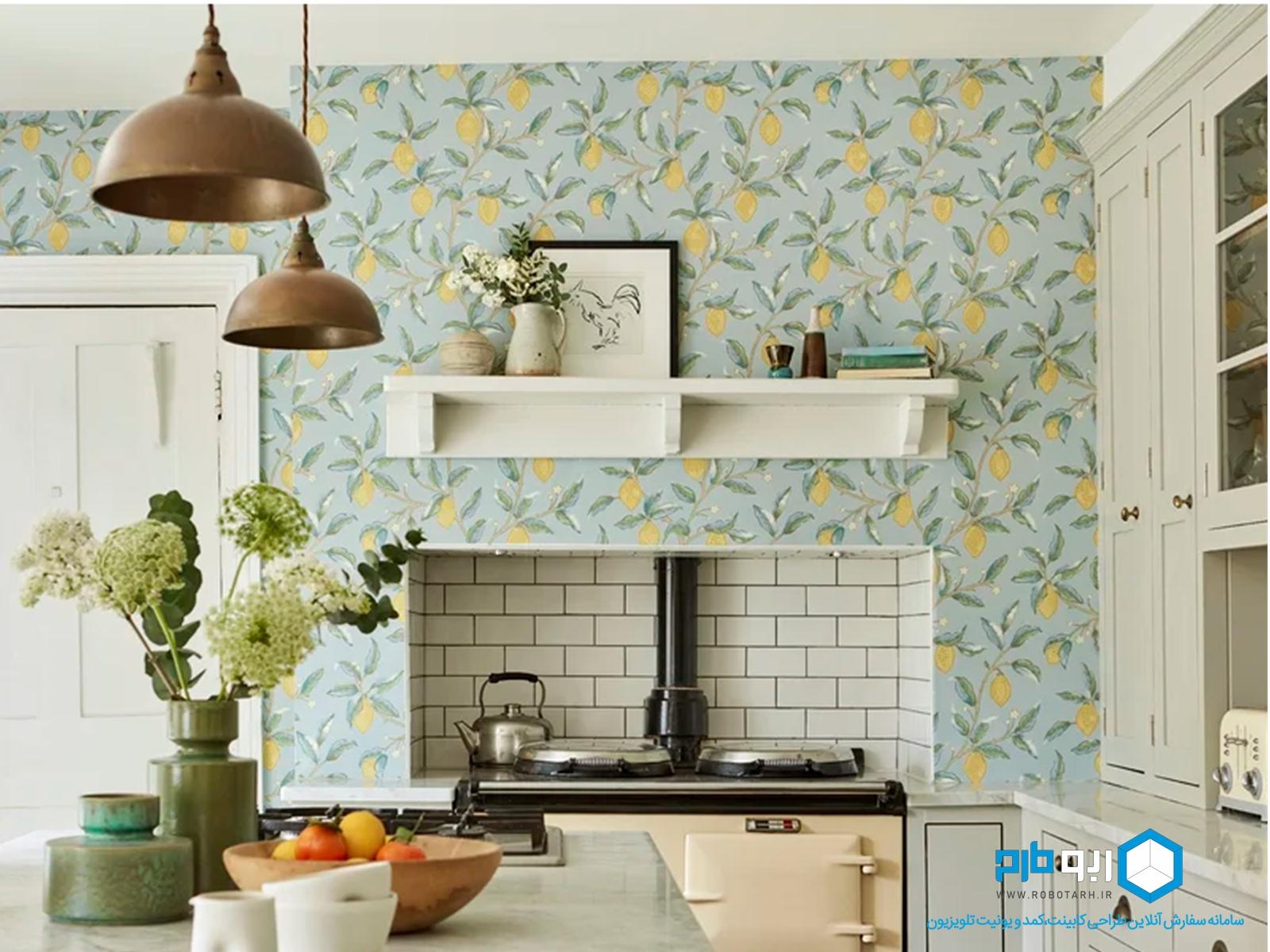 جنس کاغذ دیواری آشپزخانه