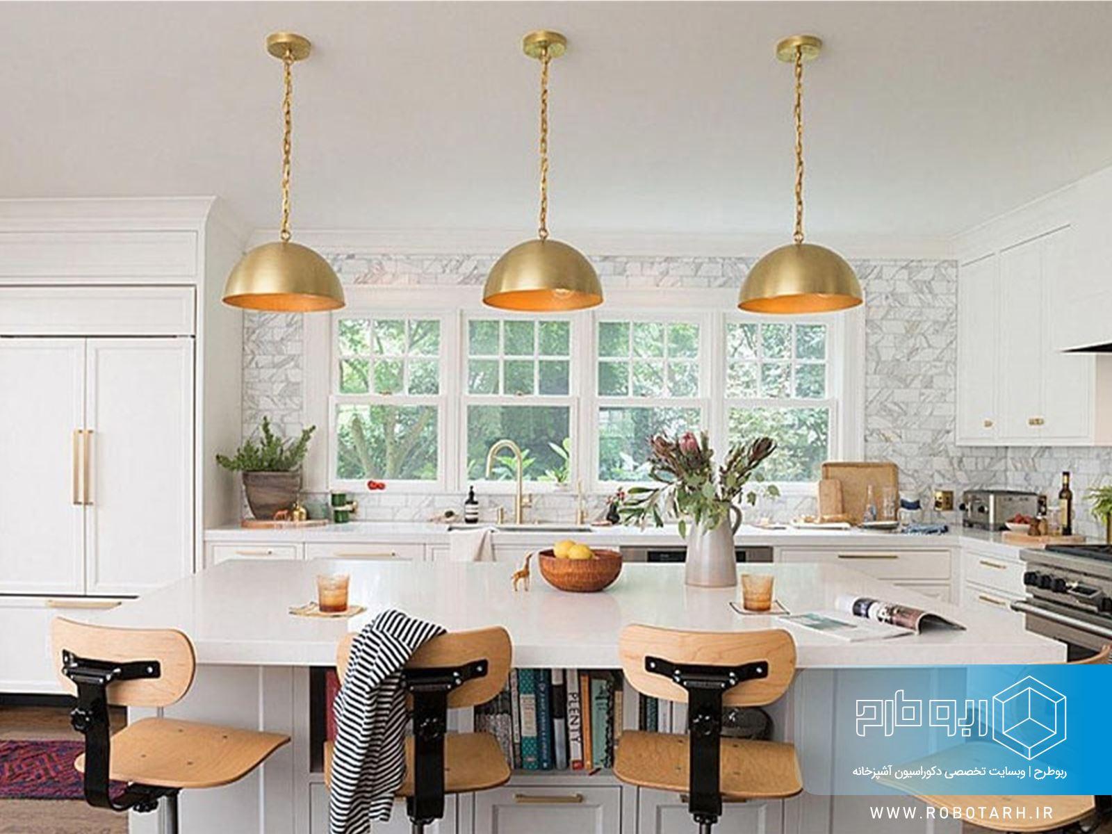 راهنمای جامع انتخاب لوستر و چراغ برای آشپزخانه