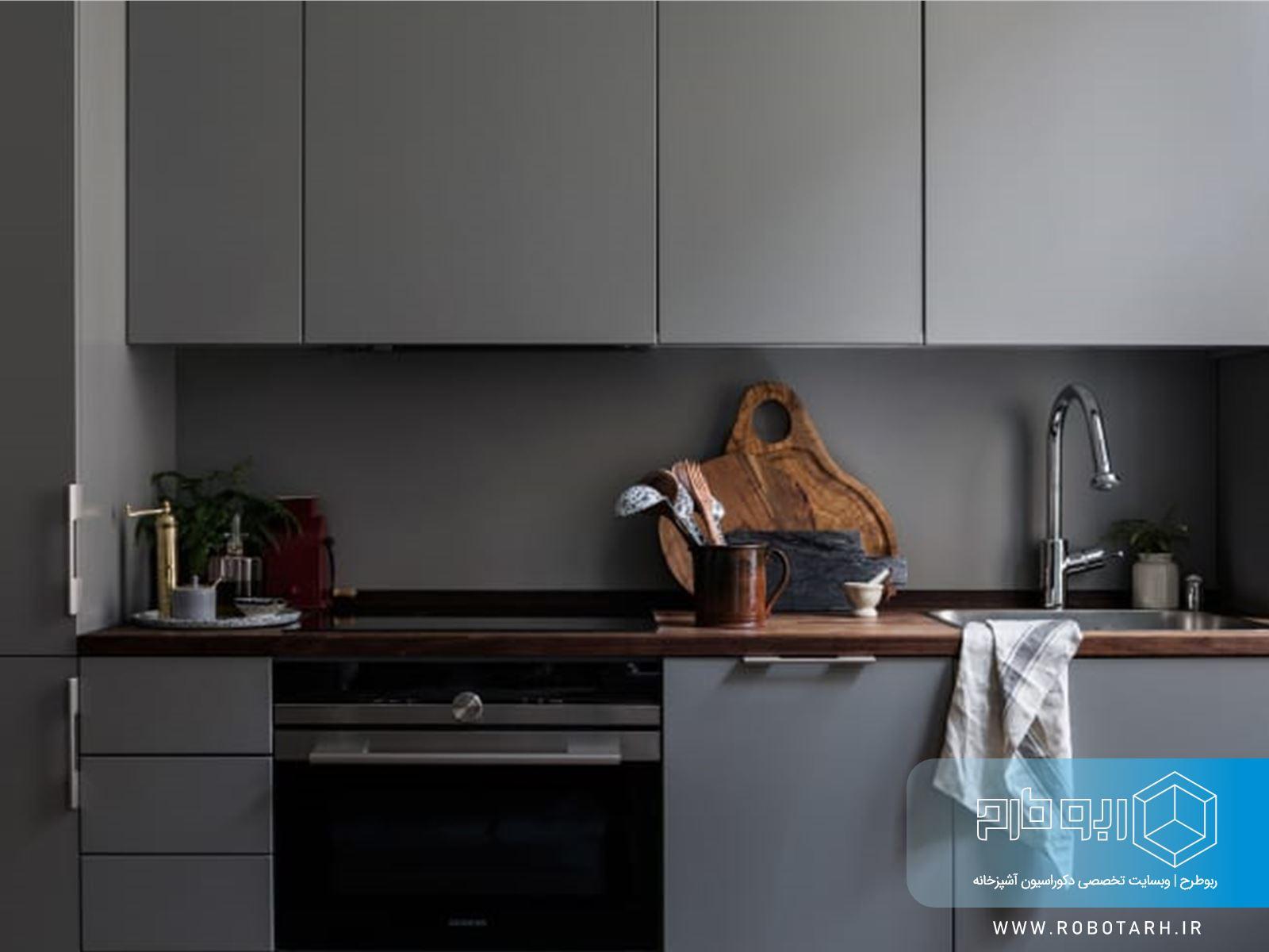 توجه به فضای آشپزخانه