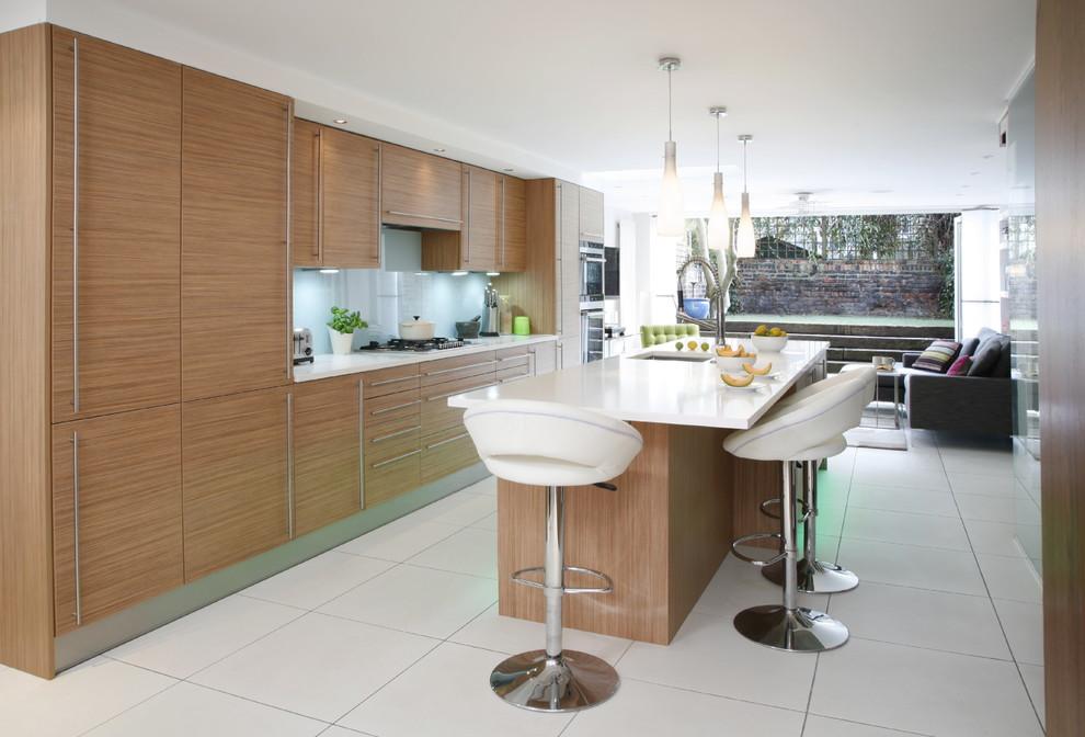 ایجاد فاصله مناسب بین تجهیزات آشپزخانه و جزیره